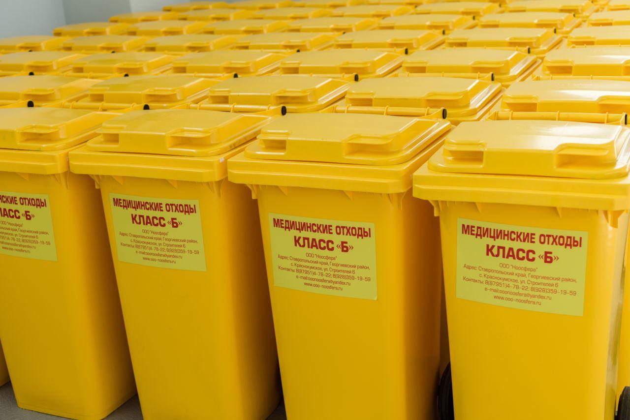 Утилизация медицинских отходов, подготовка документов