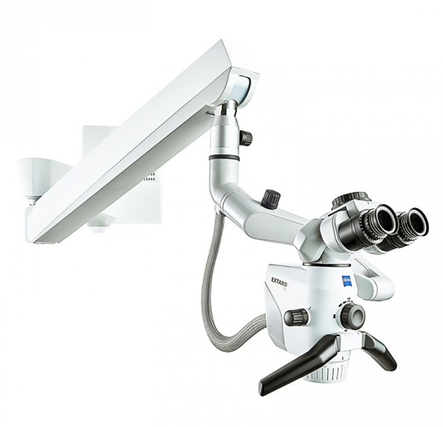 Монтаж операционного микроскопа